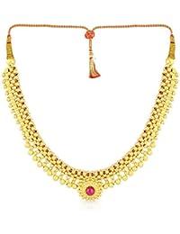 Malabar Gold & Diamonds 22KT Yellow Gold Choker Necklace for Women