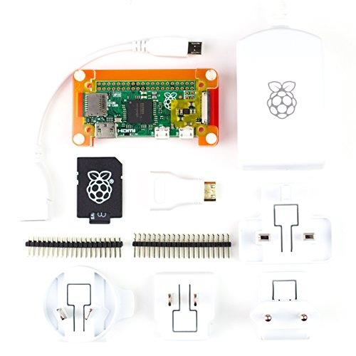Raspberry Pi Zero Starter Kit Completo width=