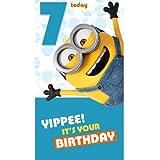 7TODAY Minions Geburtstagskarte