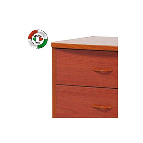 Cassettiera Con 7 Cassetti.Mobile In Legno Colore Ciliegio Cassettiera Con 7 Cassetti Cm