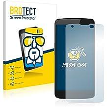 BROTECT AirGlass Protector Pantalla Cristal Flexible Transparente para Innos D6000 Protector Cristal Vidrio - Extra-Duro, Ultra-Ligero, Ultra-Claro