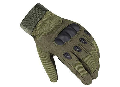 IWVX Taktische Handschuhe, Coofit Einsatzhandschuhe Motorrad Handschuhe Herren Army Gloves Fahrrad Motocross Skifahre Softair Paintball Handschuhe (Green, M)