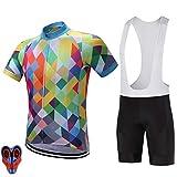 Best Bib Shorts - BEESCLOVER High Tech Fabric Quick Dry Cycling Jerseys Review