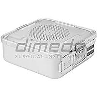 dimeda Instrumentos 88.620.01Esterilización de contenedor, plata
