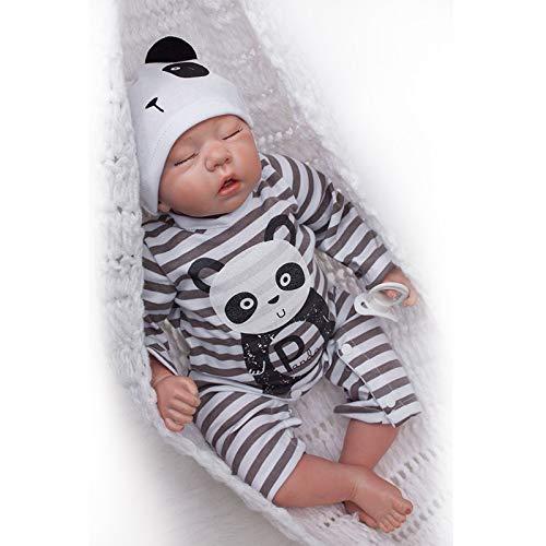 Nicery Reborn Baby Doll Souple Simulation Silicone Vinyle 50,8cm 48–50cm Enfant ami...