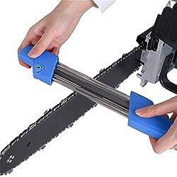 FENSIN Easy File 2 en 1 Affûteuse de chaîne de tronçonneuse 5 / 32P 4.8mm Outil de meulage de chaîne Chaîne de tronçonneuse Tronçonneuse de chaîne Unité d'affûtage de chaîne Manuelle