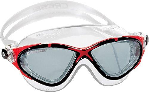 cressi-sub-spa-saturn-crystal-lunettes-de-natation-clear-black-red-smoked