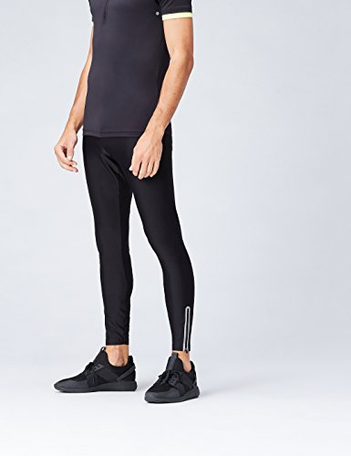 FIND Leggings Sport Uomo Nero (Black)