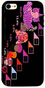 Attractive multicolor printed protective REBEL mobile back cover for iPhone 5C D.No.N-T-1127-IP5C