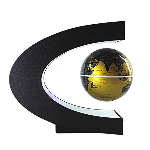 Globos Terráqueos - Globo Flotante De Levitación Magnética Bola con LED C forma...