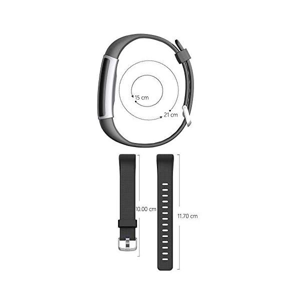 Correa para ID 130 Plus Color HR, Rastreador de Ejercicios Pulsera, Recambio Repuesto Reemplazo Banda de Reloj Ajustable para Fitness Tracker ID130 Plus 6