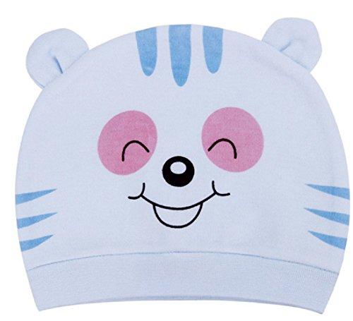 ♚ ( himmlisch ) Kappe für Kinder Fantasie-Bärenkappe Neugeborene Baumwoll Idee Baby-Geschenk unisex (Himmlische Nachricht)