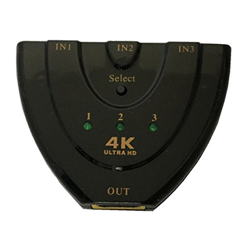 4K2K 3D Mini 3 Port HD Switch 1.4b 4K Switcher HD Splitter 3 in 1 Ausgang Hub für DVD HDTV Xbox 1080P Hdtv-hub