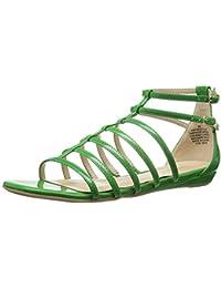 Nine West Women'S Aboutthat Synthetic Dress Sandal, Green, 35.5 B(M) EU/3.5 B(M) UK