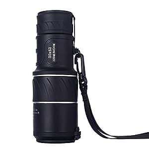 Intsun® Tragbare 30x52 Fernglas, Zoom Monocular-Teleskop, Green Film Objektiv Optischer Prism Tagesnachtsicht-100M / 8000M , Einstellbare Monokular Telescope für Golf, Camping, Wandern, Angeln, Vogelbeobachtung, Konzerte