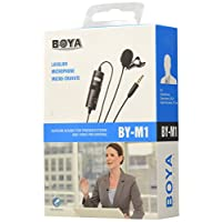 Boya BY-M1 Photographic Studio Equipment Digital & Camcorder Camera black