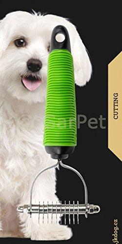 Entfilzer Hundekamm Entfilzungstrimmer Hundestriegel Hundetrimmer Trimmer - 3