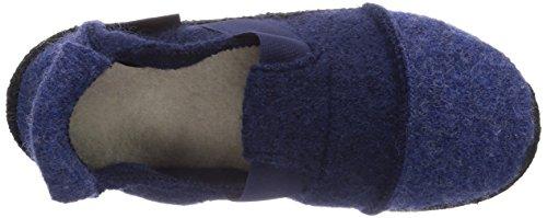 Nanga  Tal, Chaussons hauts, non doublés fille gris  (ASPH cerise noire)
