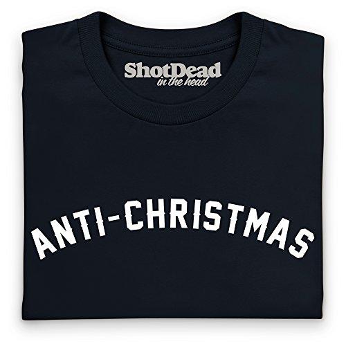 Anti-Christmas T-Shirt, Herren Schwarz