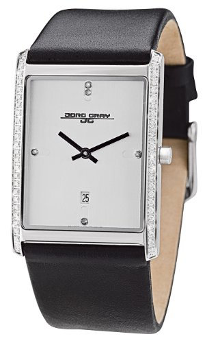 Jorg Gray Ladies Analogue Watch JG2600-11 with Silver Dial and Leather Strap
