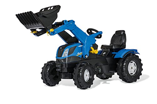 Traktor eurotrack mit frontlader allrad und straßenzulassung