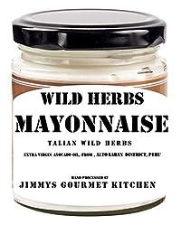 Jimmy's Gourmet Kitchen Mayonnaise Wild Herbs (BUY2 get 1 Free) Extra Virgin Avocado Oil Egg Free (225gx3)