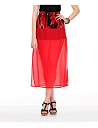 Yepme Women's Poly Cotton Skirts - YPMSKRT5060-$P