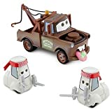 Disney / Pixar CARS 2 Movie Exclusive 148 Die Cast Car 3Pack Wasabi Screamin Hollerin Mater with 2x Sushi Chefs