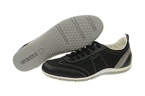 Geox Vega - Herren Sneaker - schwarz Schwarz