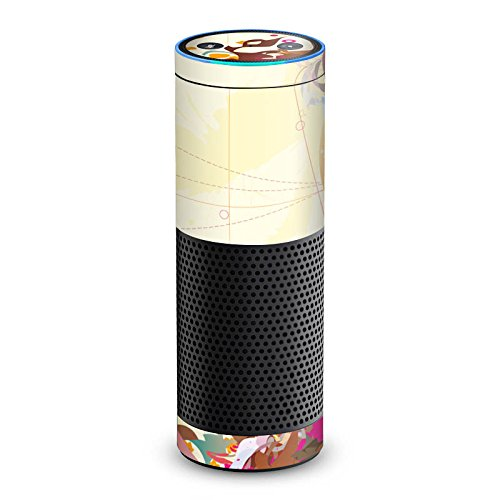 amazon Echo 1. Generation Folie Skin Sticker aus Vinyl-Folie Muster Pattern Bunt