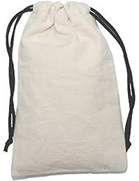 Rawbags 'Grandma's Multi-Purpose Drawstring Bag' 100 % Cotton ,Eco Friendly ,Bio Degradable Canvas Fabric With...