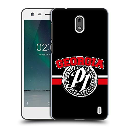 Head Case Designs Offizielle WWE Georgia P1 Aj Styles Ruckseite Hülle für Nokia 2
