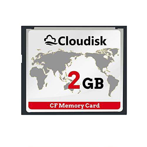 Cloudisk CF-Karte Compact Flash-Speicherkarte Leistung für Fotokameras (2gb Cf)