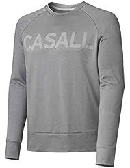 Casall - Pure Crewneck, color gris , talla L