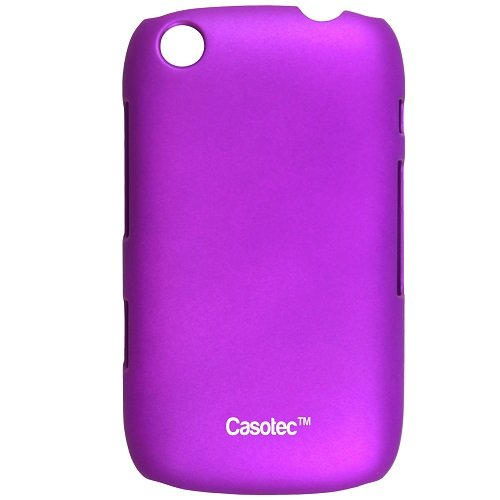 Casotec Ultra Slim Hard Shell Back Case Cover for Blackberry Curve 9220 - Purple  available at amazon for Rs.149