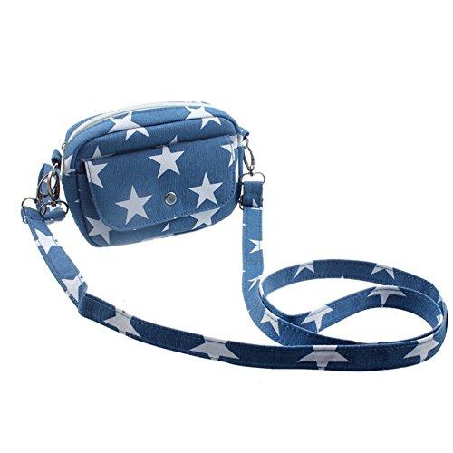Vovotrade® Borsa a tracolla donne mini messaggero tracolla della borsa (Blu scuro) Azzurro