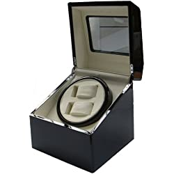 Time Tutelary Dual Watch Winder KA007
