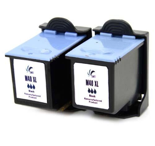 2 x Office Channel24 Druckerpatronen ersetzen Samsung INK-M40 schwarz black INK-M40 für SAMUNG SF331 SF332 SF333 SF335 SF335T SF340 SF340T SF345 SF345TP SF360 SF361 SF365 SF365TP Fax