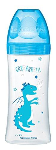 dodie-botella-sensacion-con-tetina-placa-de-flujo-3-new-dragon-bleu-330-ml-6-meses