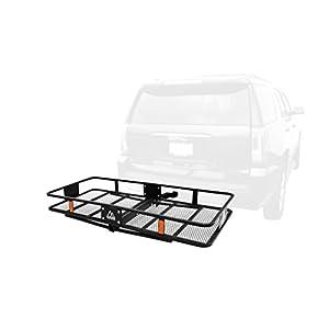 Traverse Sport Cascade Anhängerkupplung Halterung Cargo Rack mit Empfänger, 5,1cm schwarz