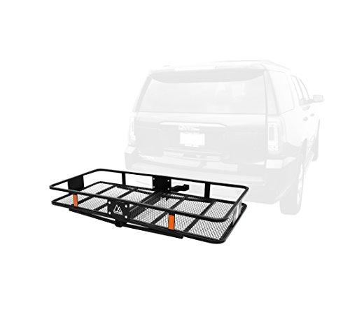 Traverse Sport Cascade Anhängerkupplung Halterung Cargo Rack mit Empfänger, 5,1cm schwarz -