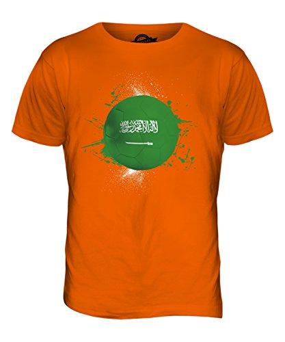 CandyMix Saudi-Arabien Fußball Herren T Shirt Orange