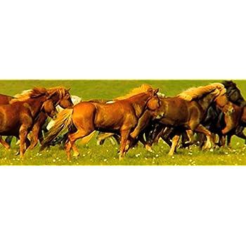 Howard Robinson Super 3D Bewegend Lesezeichen Pferde Sommer Wiese