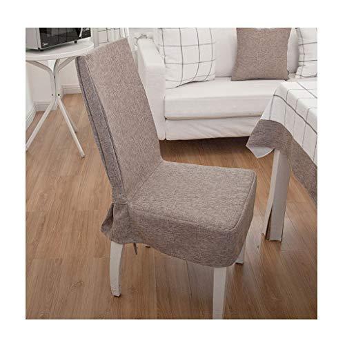 Fundas para Sillas de Comedor Fundas for sillas, Silla sin brazos arco de fundas for cojín de asiento comedor habitaciones,...