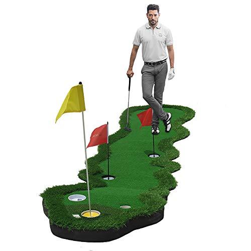 OLDF Golf Que Pone práctica, Putter de Interior de la Oficina Verde Putter...