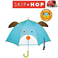 Skip Hop Zoobrella Darby Dog Childs Walking Umbrella 66cm Long 72cm Wide Canopy