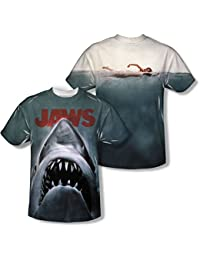 Jaws - Mens Poster T-Shirt