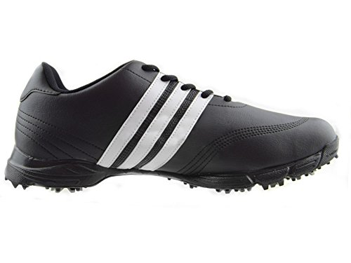 adidas Golflite Herren Golfschuhe wasserdicht, Schwarz - Schwarz - Größe: 42 EU