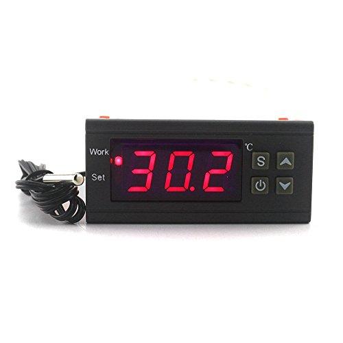 ketotek Digital Temperatur Controller AC 220V 10A Thermostat Regler-50~ 110C Heizung Kühlung Kontrolle Relais Inkubator Ei Landwirtschaft