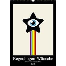 Regenbogen-Wünsche: Bunter leben mit Looksy Dingbats! (Wandkalender 2018 DIN A3 hoch): Emojis für Lebensfreude, Freiheit und Vielfalt. (Monatskalender, 14 Seiten ) (CALVENDO Lifestyle)